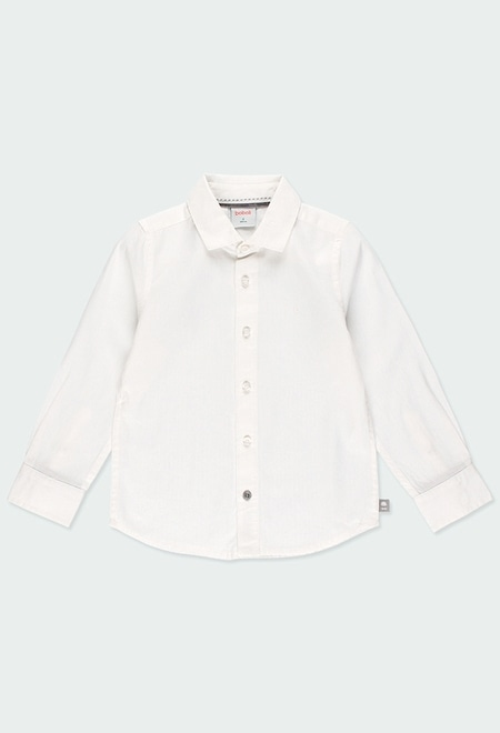 Camisa de tejido fantasía de niño_1