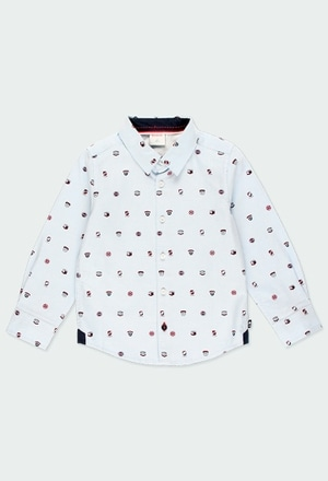 Oxford long sleeves shirt for boy_1