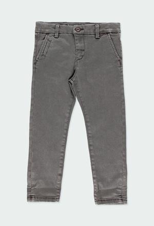 Pantaloni saten elasticizzato per ragazzo_1