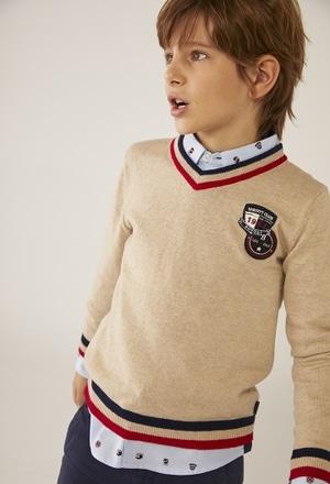 """Jersey tricotosa """"escudos"""" de niño_1"""