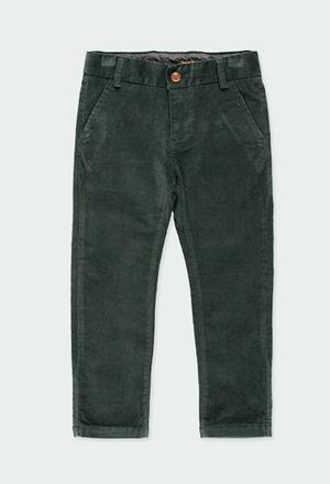 Pantaloni vellutino elasticizzato per ragazzo_1