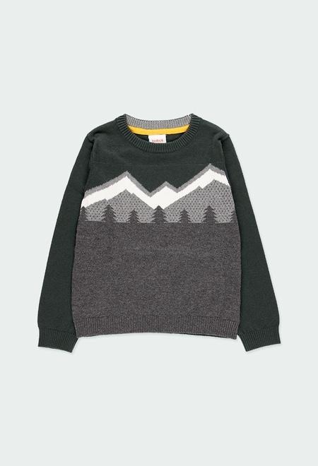 """Jersey tricotosa """"mountain"""" de niño_1"""