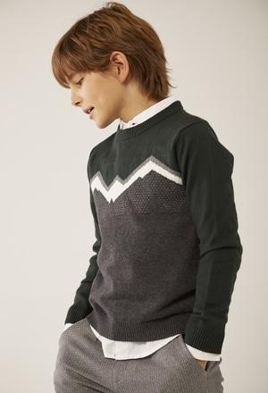 Knitwear pullover for boy_1