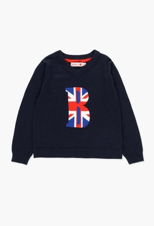 Knitwear pullover for boy_1