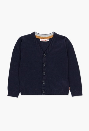 Knitwear jacket for boy_1