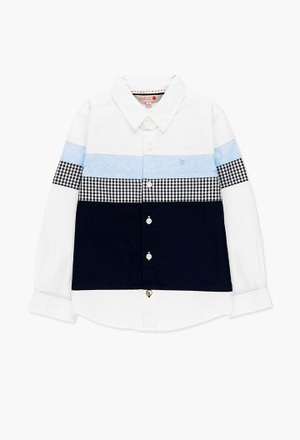 Poplin shirt for boy_1