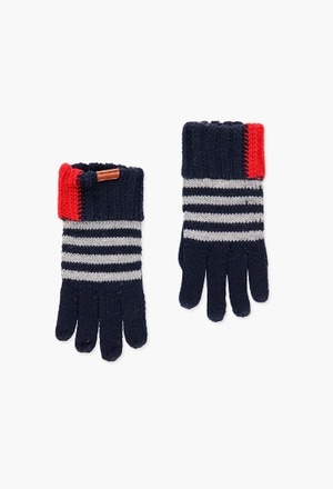 Knitwear gloves for boy_1