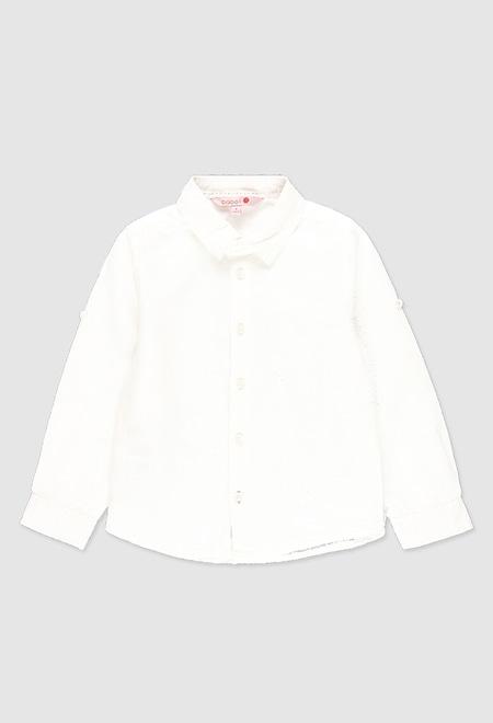 Hemd leinen lange ärmel für junge_1