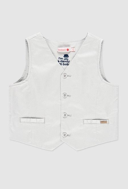 Vest satin stretch for boy_1