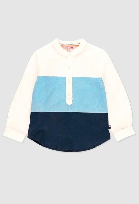 Linen shirt long sleeves for boy_1