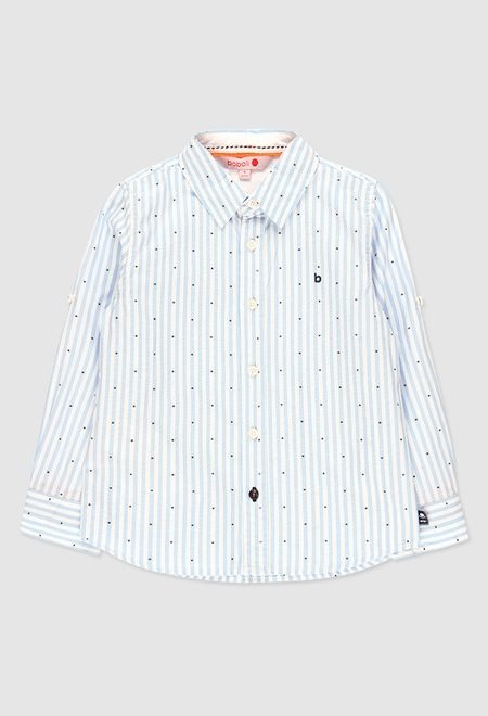 Chemise manche longue pour garçon_1
