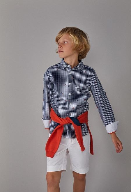 Camisa poplin para menino_1