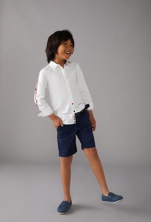Camisa oxford manga larga de niño_1