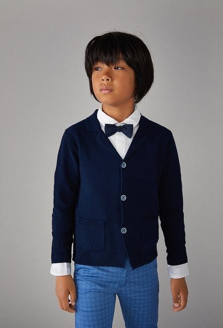Chaqueta tricotosa de niño_1