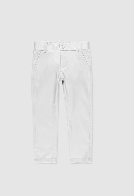 Pantalon stretch en satin pour garçon_1