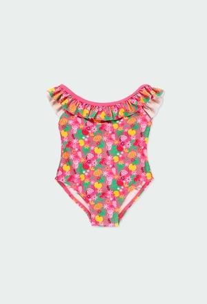 Bañador tropical de bebé niña_1