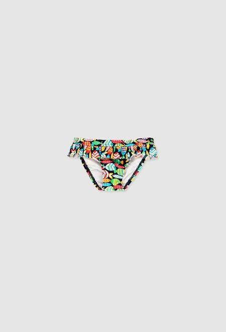 Culotte polyamide pour bébé fille_1