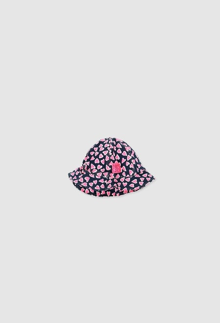 Mütze gestrickt elastich für baby mädchen_1