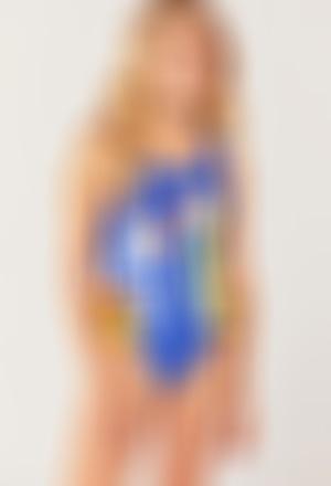 Swimsuit polyamide for girl