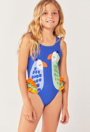 Swimsuit polyamide for girl_1