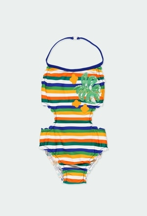 Swimsuit striped for girl_1