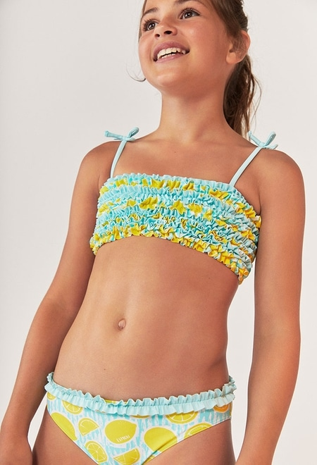 Bikini zitronen für mädchen_1