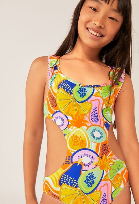 Maillot de bain fruits pour fille_1