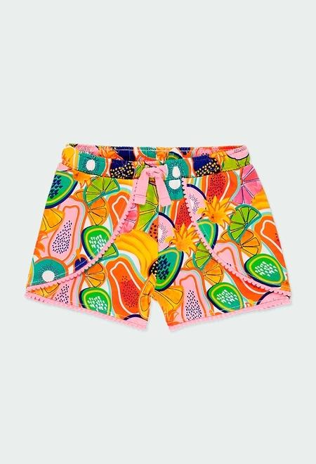 Shorts gestrickt obst für mädchen_1