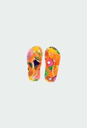 Flip flops fruits for girl_1