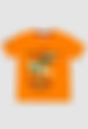 Camiseta punto liso de niño