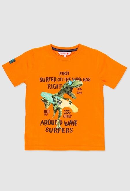 Camiseta punto liso de niño_1