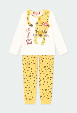 Interlock pyjamas for girl_1