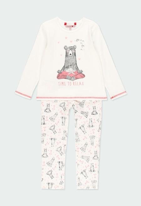 "Pijama interlock ""osos"" de niña_1"