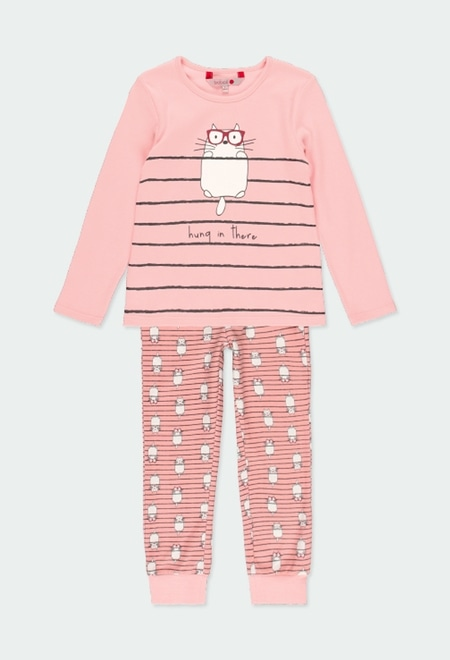 "Interlock pyjamas ""cats"" for girl_1"