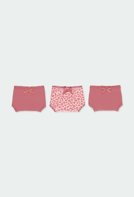 Pack 3 knickers knit for girl_1