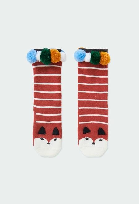 Chaussettes hautes pour fille_1