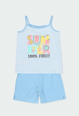 """Pigiama jersey """"estate"""" per ragazza_1"""