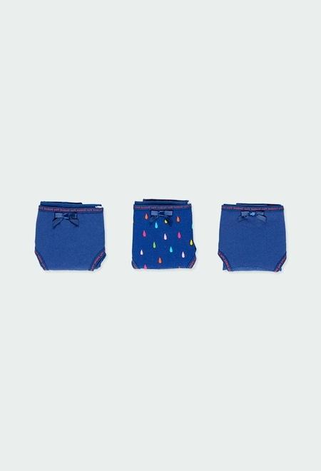 Pack de 3 culottes pour fille_1