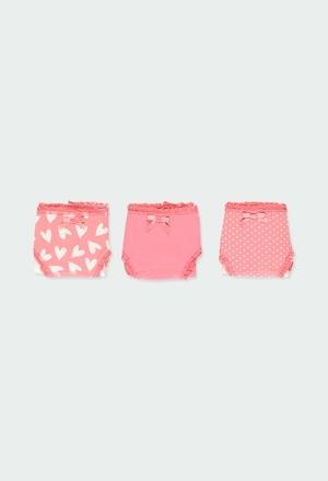 Pack 3 cuequinhas para menina_1