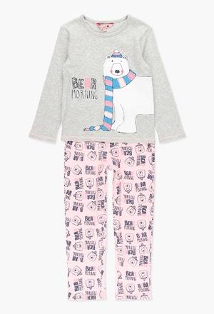 Pijama interlock de niña_1