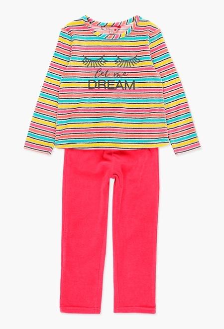 Pijama terciopelo de niña_1