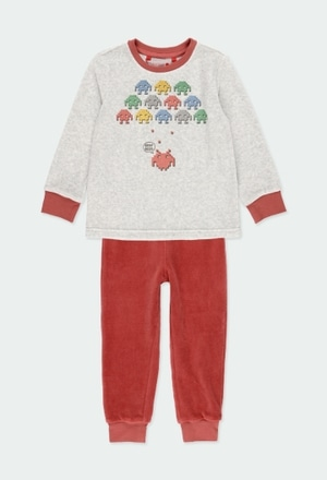 Velour pyjamas for boy_1
