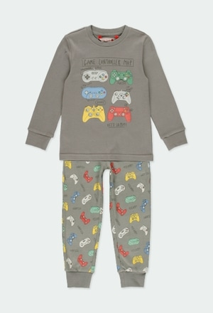 Interlock pyjamas for boy_1