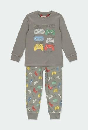 Schlafanzug interlock für junge_1