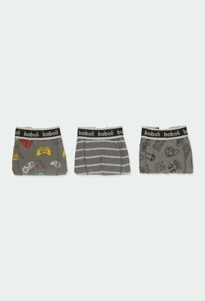 Pack 3 boxers for boy_1