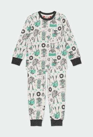 "Pyjama ""bbl music"" pour garçon_1"