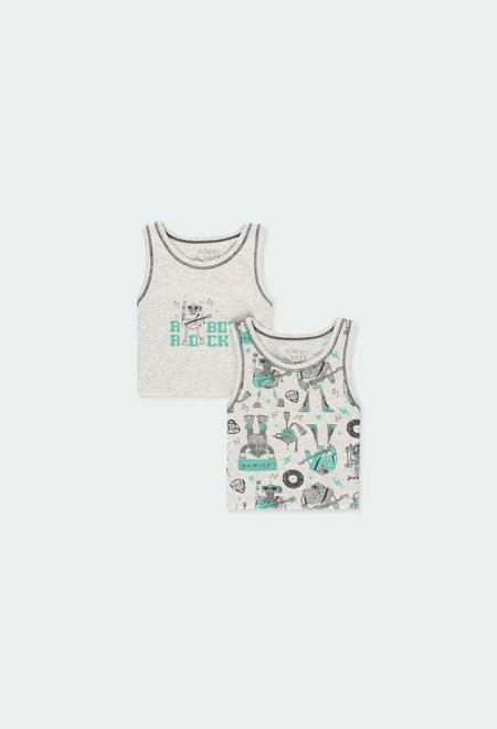 Pack 2 camisetas tirantes de niño_1
