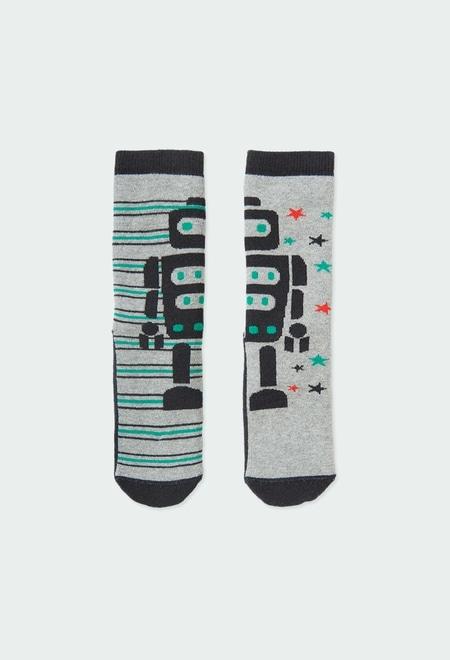 Chaussettes hautes pour garçon_1