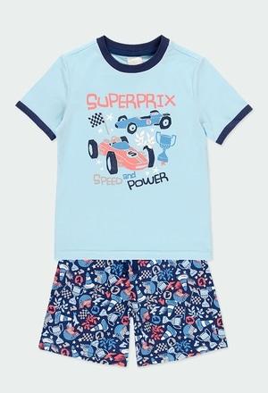 Pijama malha carro para menino_1