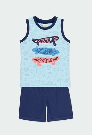 "Pyjama en tricot ""skate generation"" pour garçon_1"